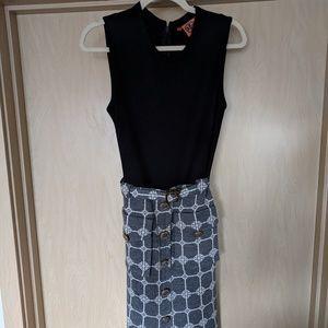 Tory Burch Wool Pencil Dress